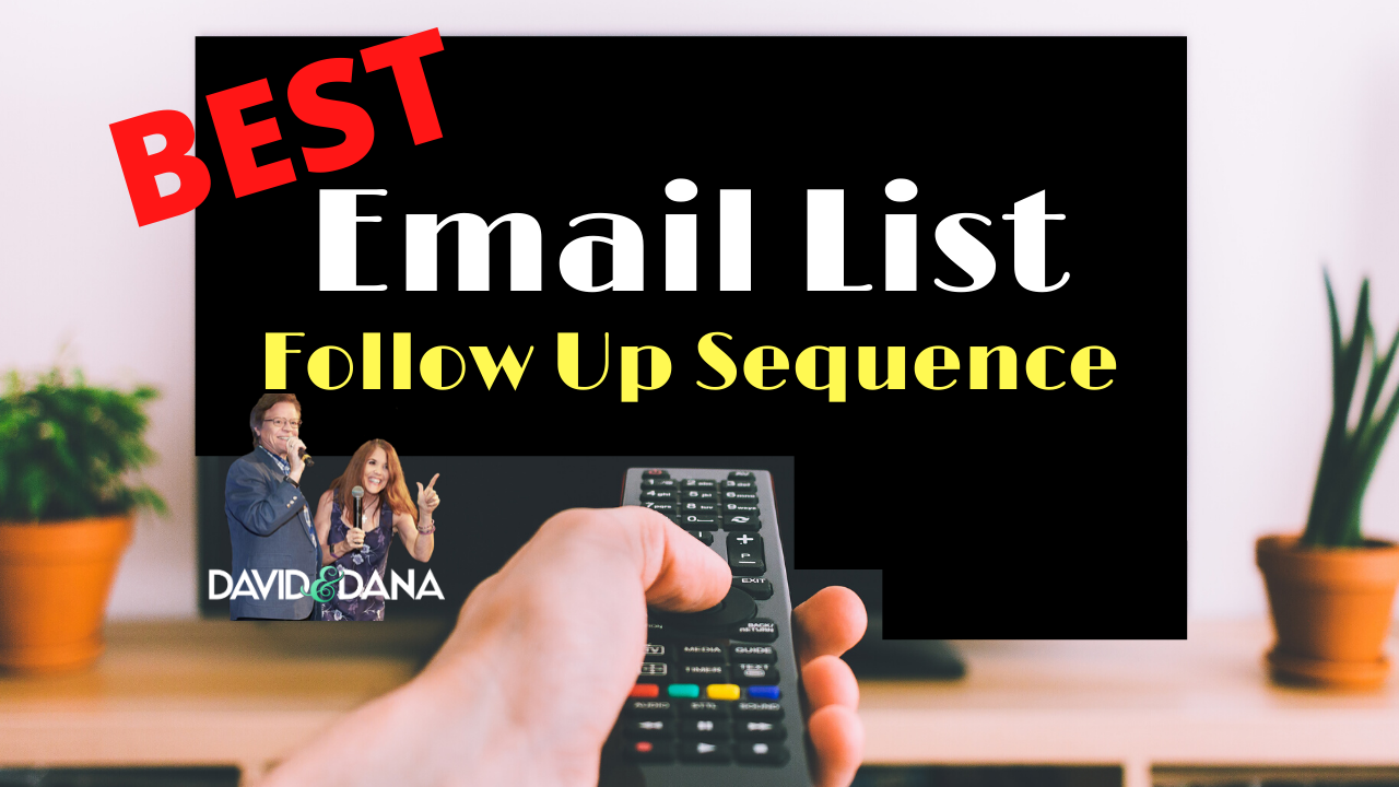 FollowUp Email Sequence Template